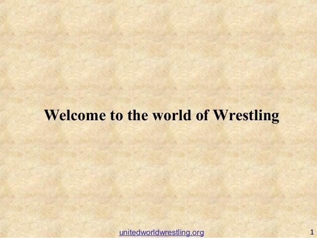 Welcome to the world of Wrestling 1unitedworldwrestling.org