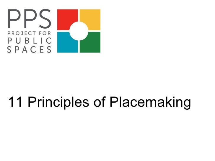 11 Principles of Placemaking
