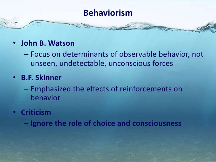 Unconscious forces were the main focus of personality