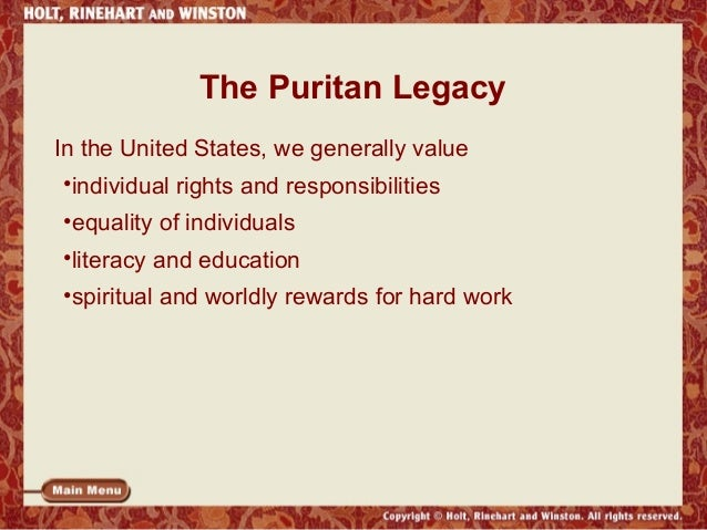 puritan essay title Much of the great migration success as well as the successful establishment of puritan colonies in the new world was due to the role of women played within puritan settlements (nash, 2001) namely women formed and cherished the religious background of the puritan settlements.