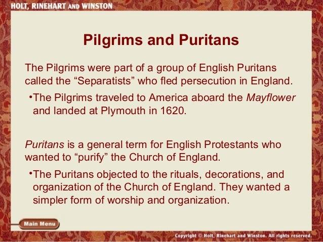 pilgrims essay