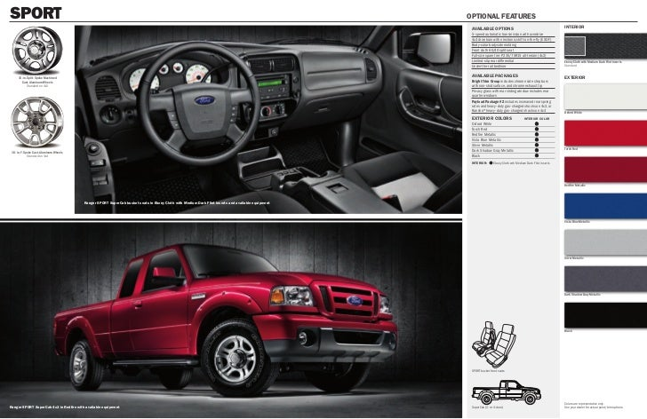 ford ranger wildtrak brochure pdf