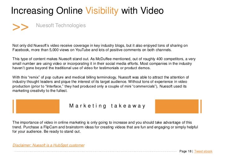 """Increasing Online Visibility with Video >>                         Nuesoft Technologies   Not only did Nuesoft""""s video rec..."""