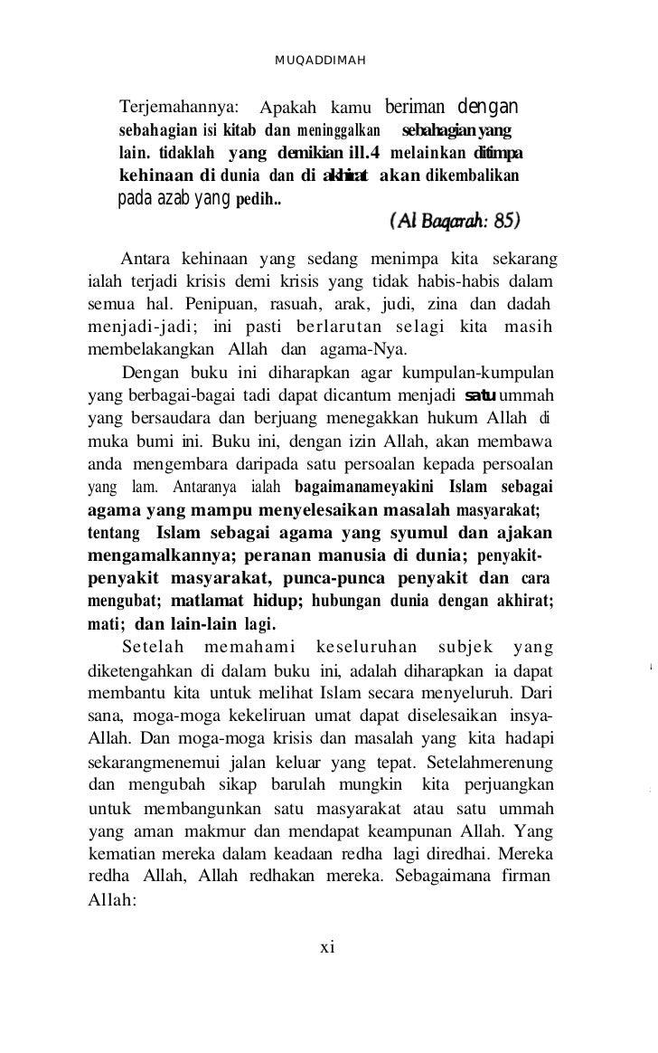 R E N U N G A N lJNTUK MENGUBAH S I K A P      7. Golongan yang tidak yakin bahawa Islam mampumenyelesaikan semua masalah ...
