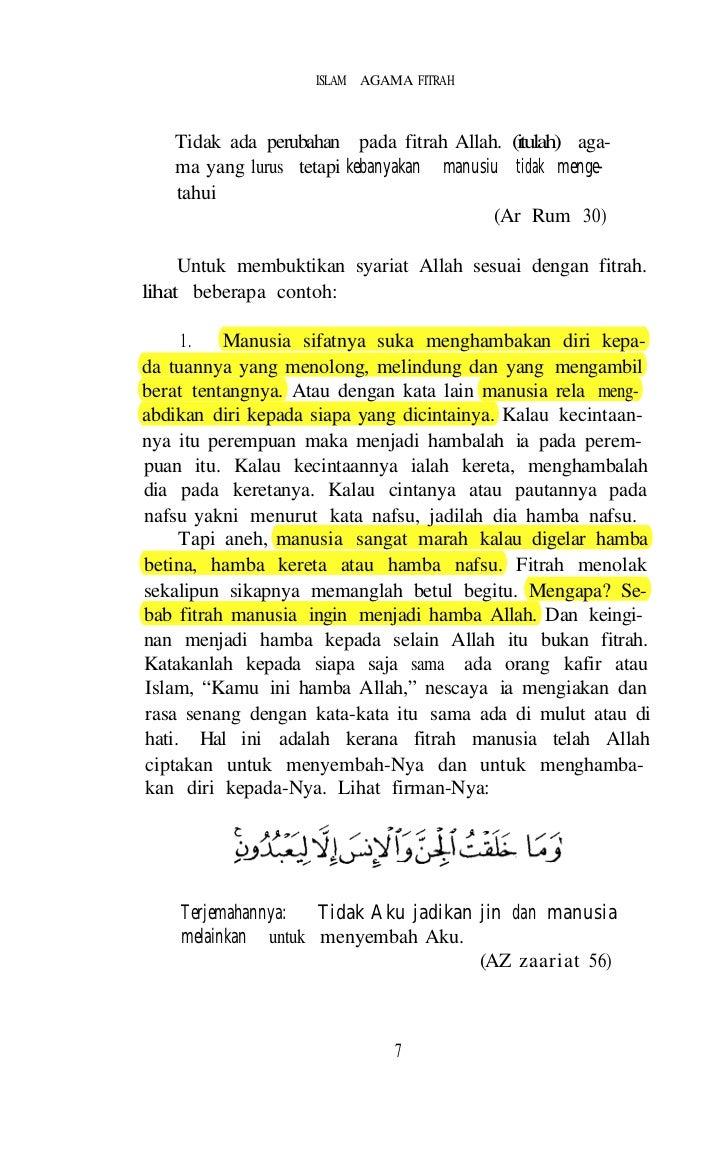 m n na g islam secara sedar atau t e e tn                              sendiri.