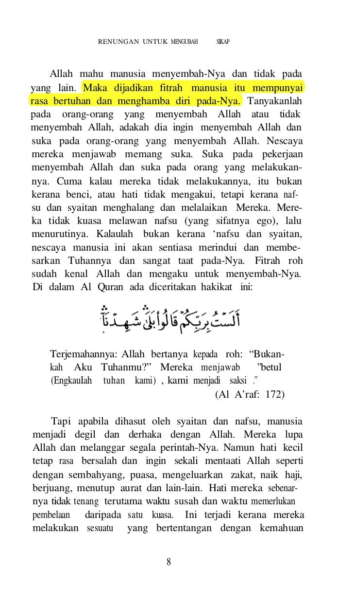 ISLAM AGAMA FITRAH     2.   Manusia ingin menambah ilmu. Ingin mencaripengalaman dan ingin pandai, dan tidak bergantung hi...