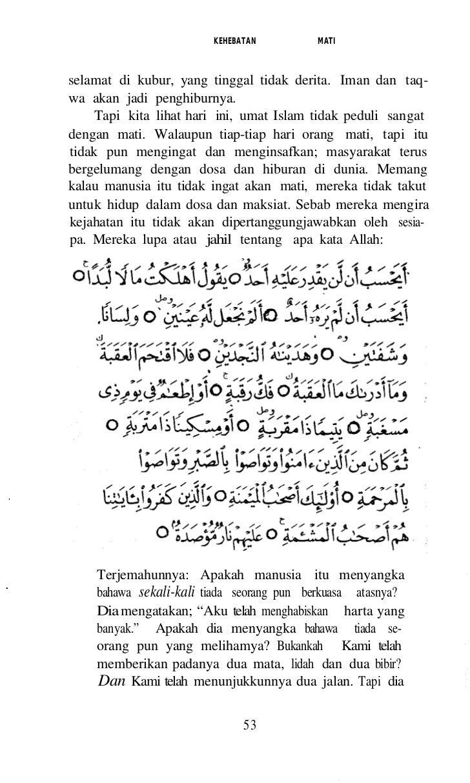 DIDIKAN ALLAH.b) Surah Ax Ruum ayat 20 - 25 yang bkrmaksud:Dun di antara tanda-tanda kekuasaan-Nya ial.ah Diamenciptakan k...
