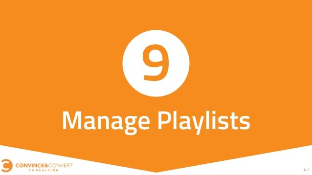47 Manage Playlists 9