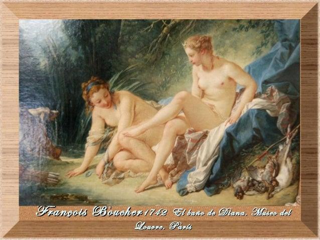Boucher El Bano De Diana.11 Rococo