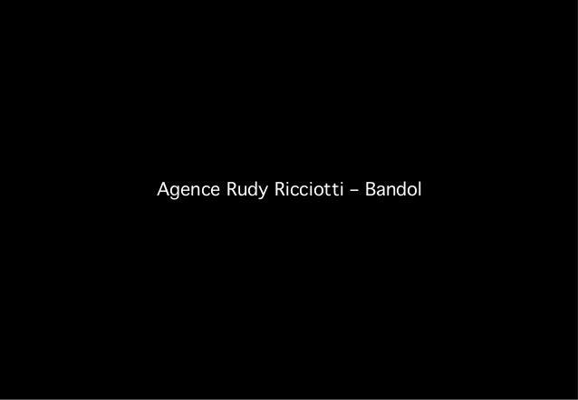 Agence Rudy Ricciotti – Bandol!