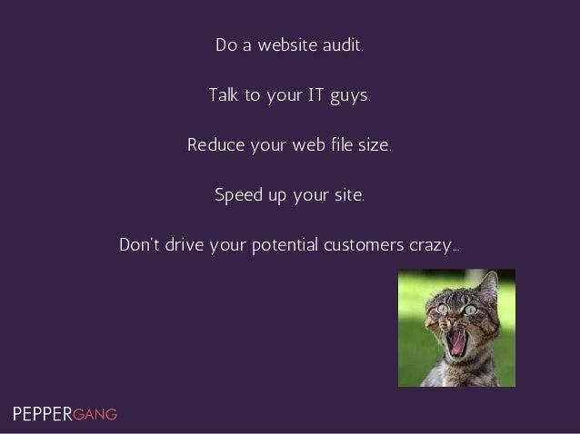6. Not Mobile Friendly WhenIseesomethinglikethis... https://www.portent.com/blog/seo/dont-fail-googles-mobile-friendl...