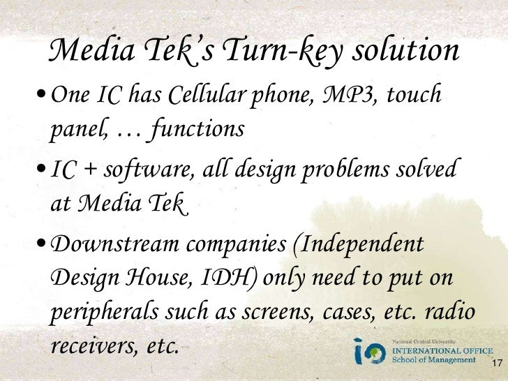 Shanzai MediaTek and the White Box Handset Market Case Solution