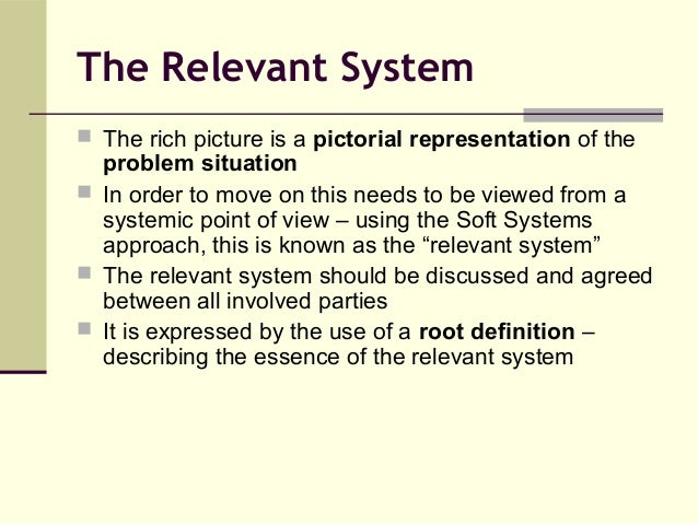 soft system methodology in construction