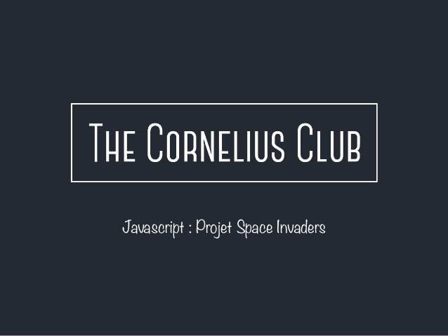 Javascript : Projet Space Invaders