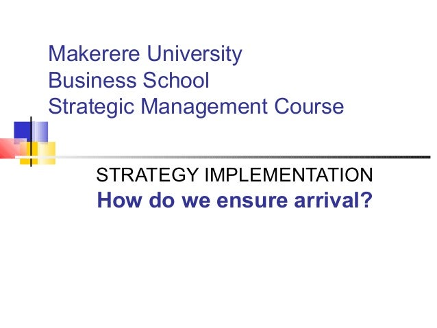 strategic management and business school This article discusses the role of finance in strategic planning strategic finance, 87, no 10 school of business and management at pepperdine.