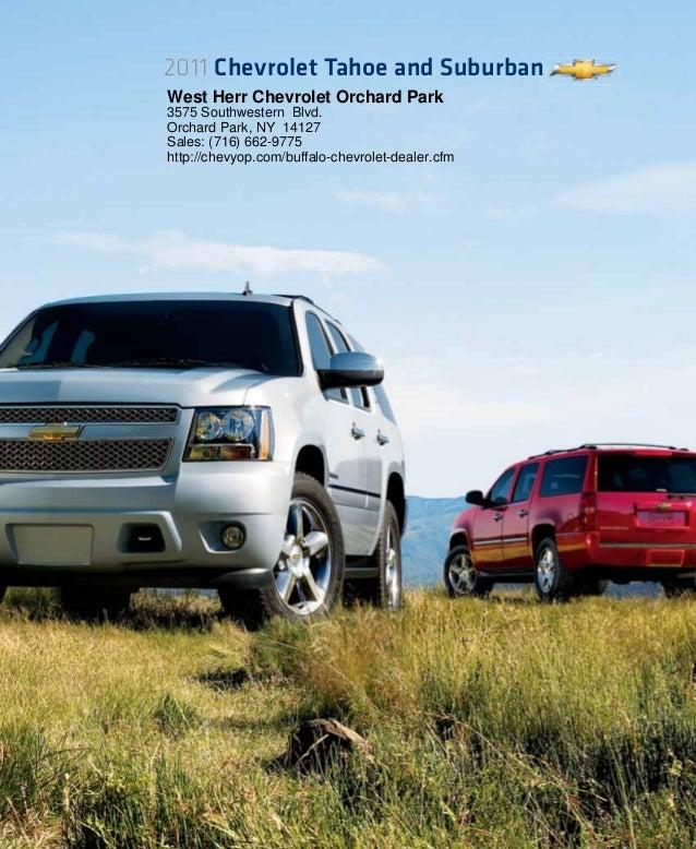 Buick Dealerships In Minnesota: 2011 Chevrolet Suburban West Herr Chevrolet Orchard Park, NY