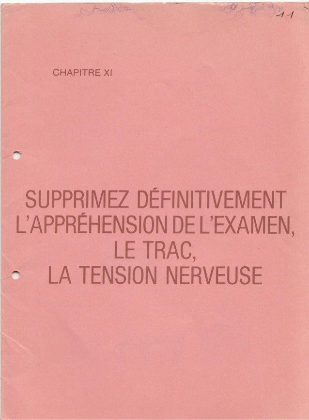 11 supprimez definitivement_l_apprehension_de_l_examen_le_trac_la_tension_nerveuse