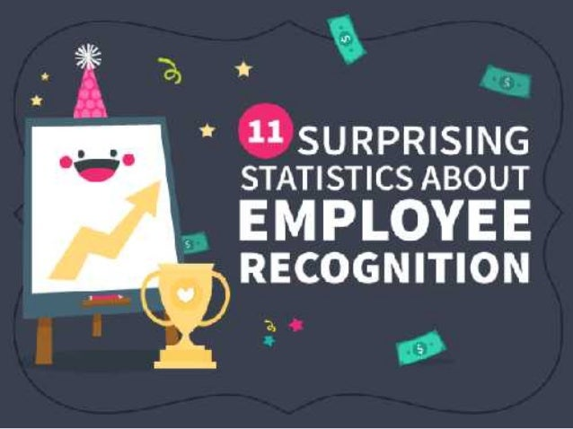 11 surprising statistics about employee recognition