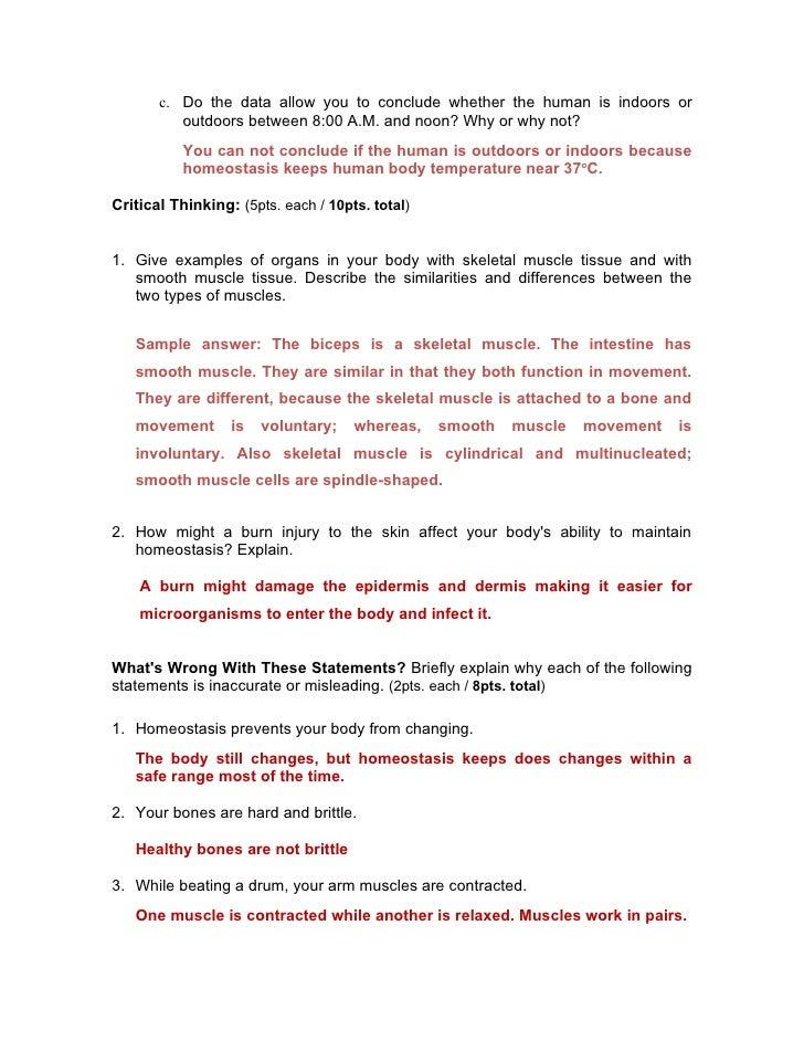 11th grade partial exam (3rd mp) answer key