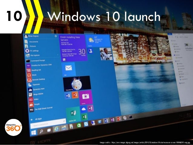 10 Image credits::: https://cms-images.idgesg.net/images/article/2014/10/windows10-start-menu-on-screen-100466241-orig.jpg...