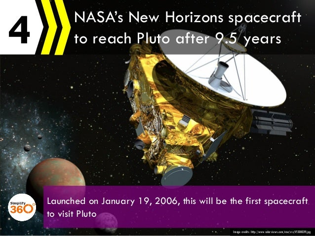 4 Image credits: http://www.solarviews.com/raw/vss/VSS00039.jpg NASA's New Horizons spacecraft to reach Pluto after 9.5 ye...