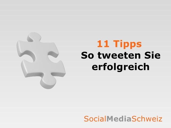 11 Tipps   So tweeten Sie erfolgreich