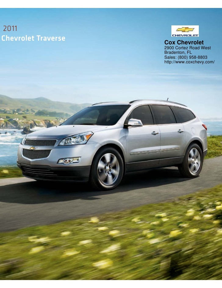 For A 360 Degree View, Visit Chevy.com/traverse.
