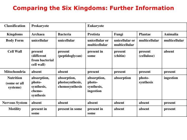 six kingdom chart - 728×546