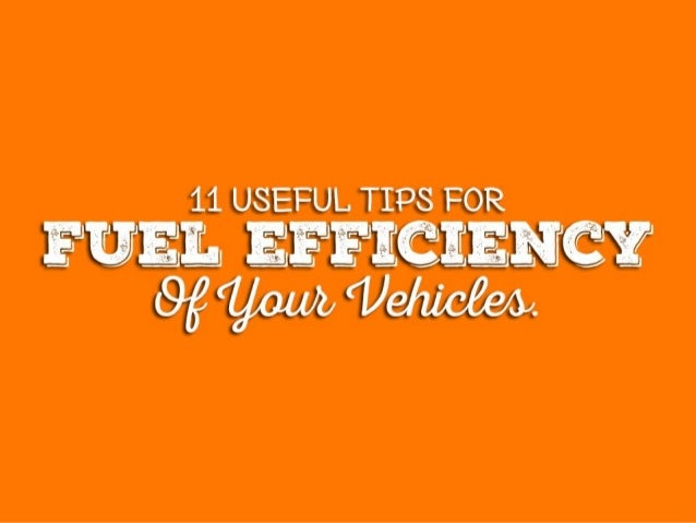 11 useful tips for fuel efficiency of your car