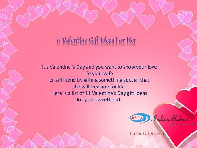 Online valentine 39 s day gift ideas for her valentine day for Creative valentines day ideas for wife