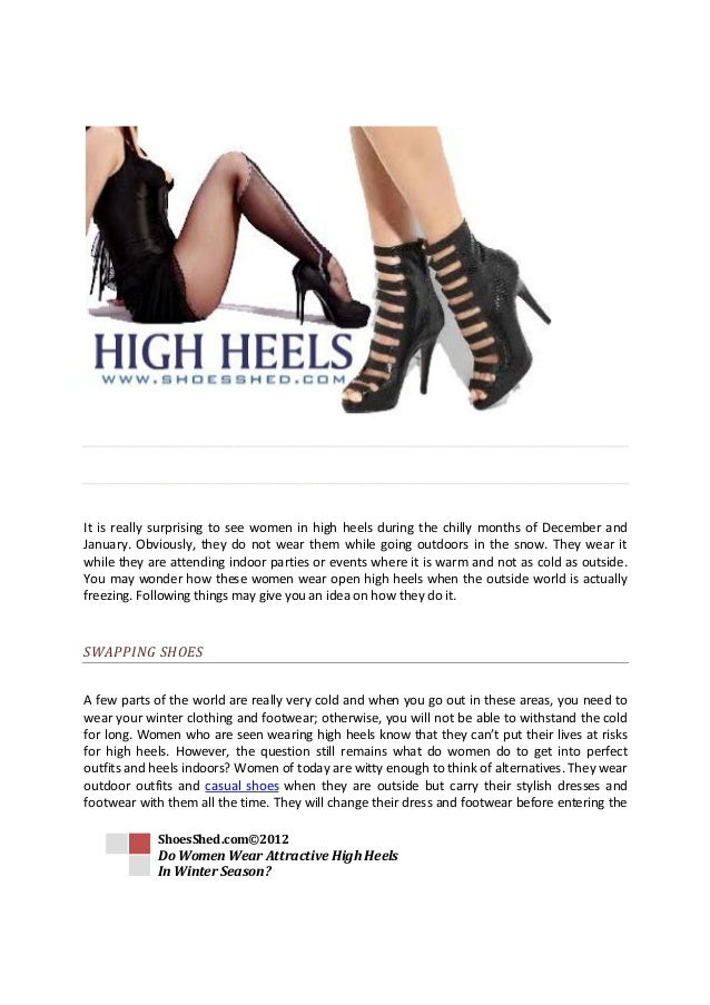 Weather Wearing Heels High In Cold NOv8m0ywnP