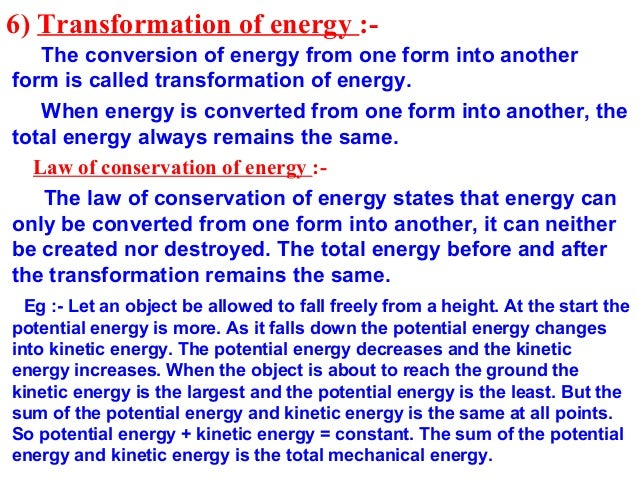 class 9 chapter 11 work and energy very helpful presentation