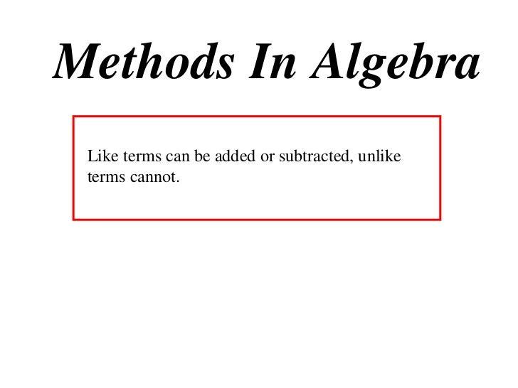 11 X1 T01 01 algebra & indices (2010)