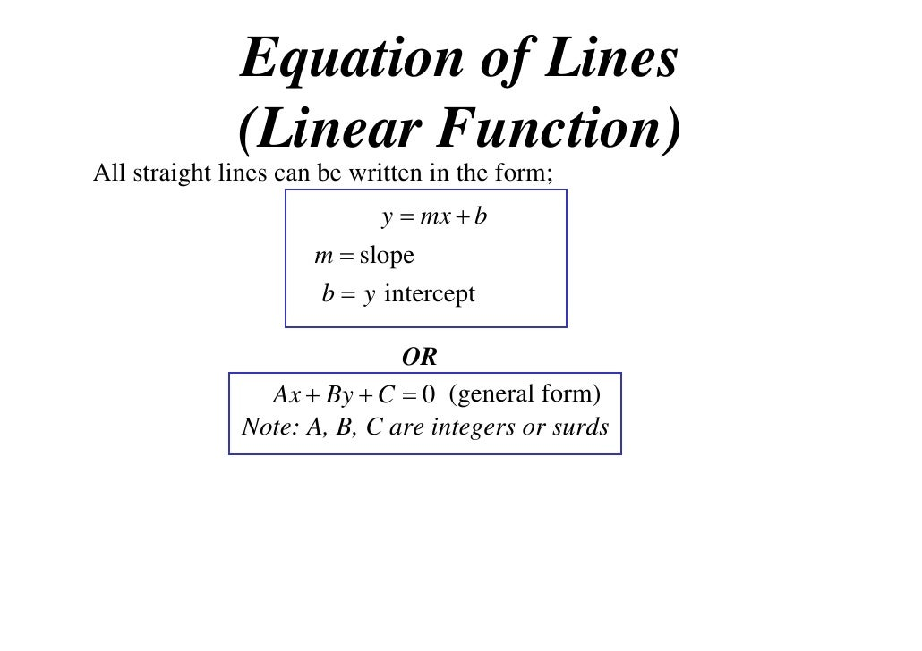 11X1 T05 03 equation of lines (2011)