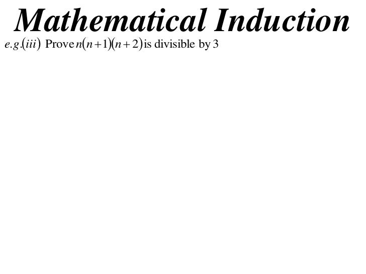 11X1 T14 09 mathematical induction 2 (2010)