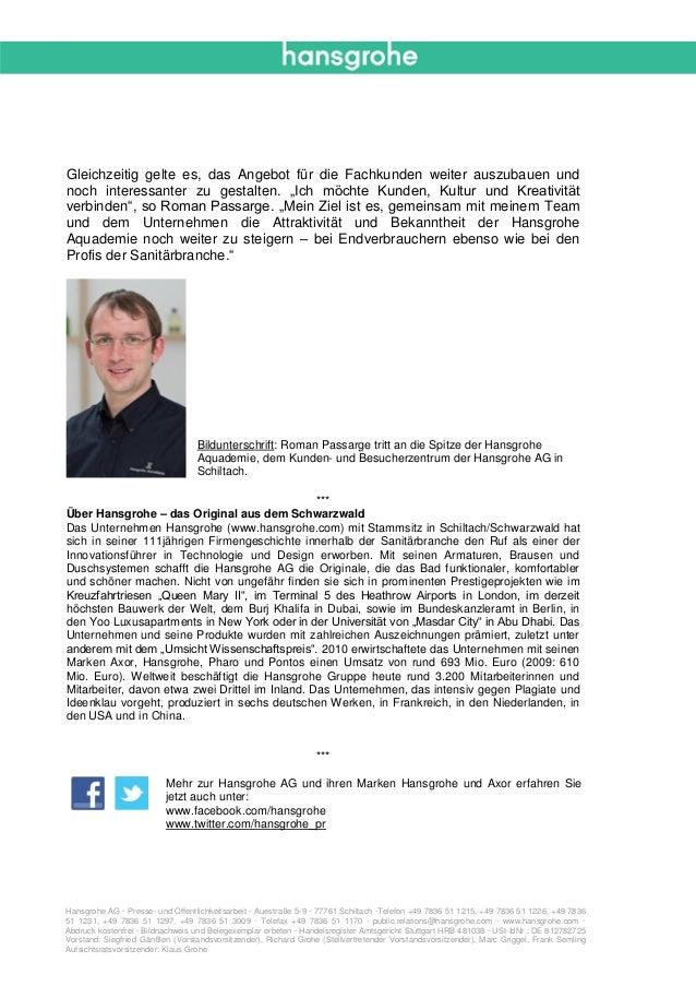 12_01_Hansgrohe AG_Neuer Aquademieleiter.pdf Slide 2