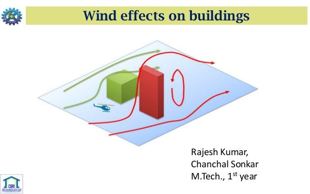 Wind effects on buildingsRajesh Kumar,Chanchal SonkarM.Tech., 1st year