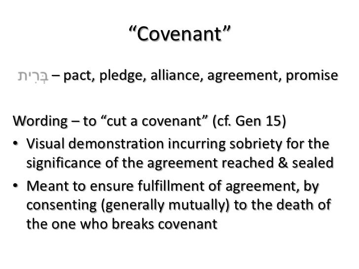 What exactly is the Sinai Covenant ? – Covenants – Part 4