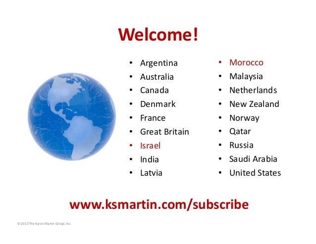Welcome! • • • • • • • • •  Argentina Australia Canada Denmark France Great Britain Israel India Latvia  • • • • • • • • •...