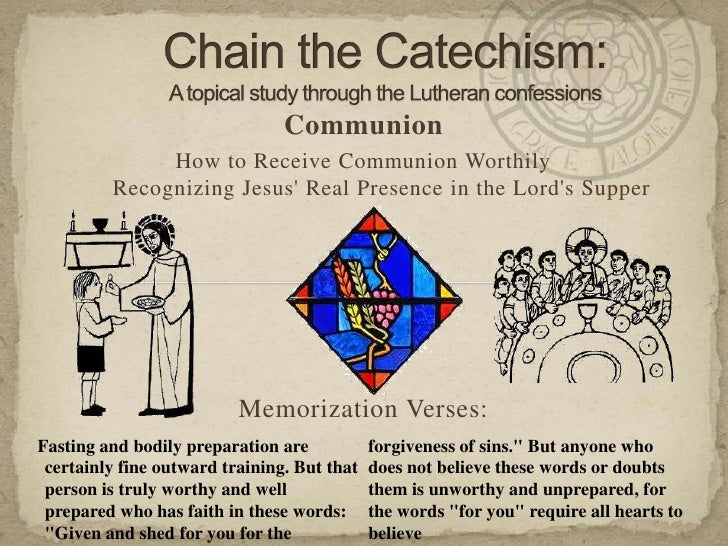 Communion              How to Receive Communion Worthily         Recognizing Jesus Real Presence in the Lords Supper      ...