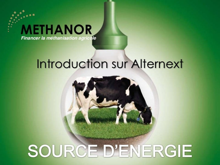 Financer la méthanisation agricole       Introduction sur Alternext