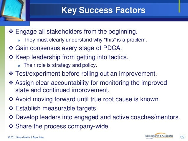 boeing key success factors The critical success factors for end of life aircraft  the role of key stakeholders and the influential factors in different  boeing 2010 environment.