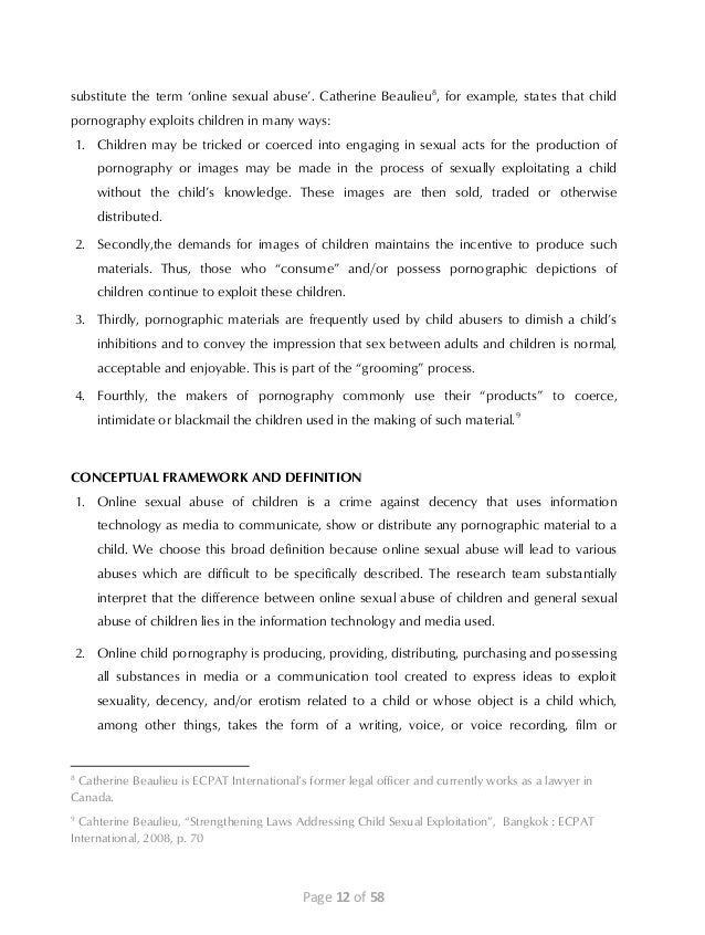 scope and delimitation in child abuse Delimitation paper of research in meaning and scope - my satire essay is about how i couldn't come up with a topic for my essay, and that it is bad to use your phone.