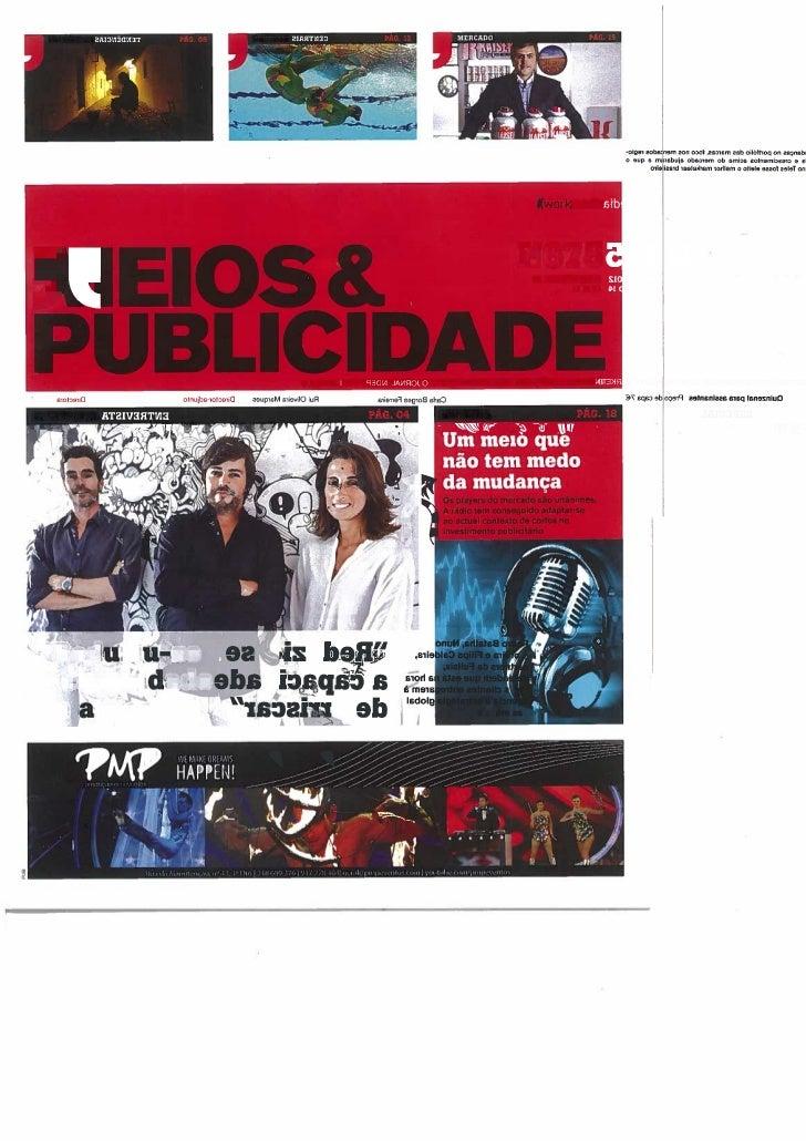 Entrevista Filipa Caldeira, Pedro Batalha e Nuno Moreira, Partners da Fullsix Portugla para a Meios e Publicidade.