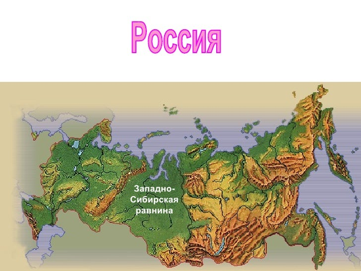 Равнины россии 4 класс доклад