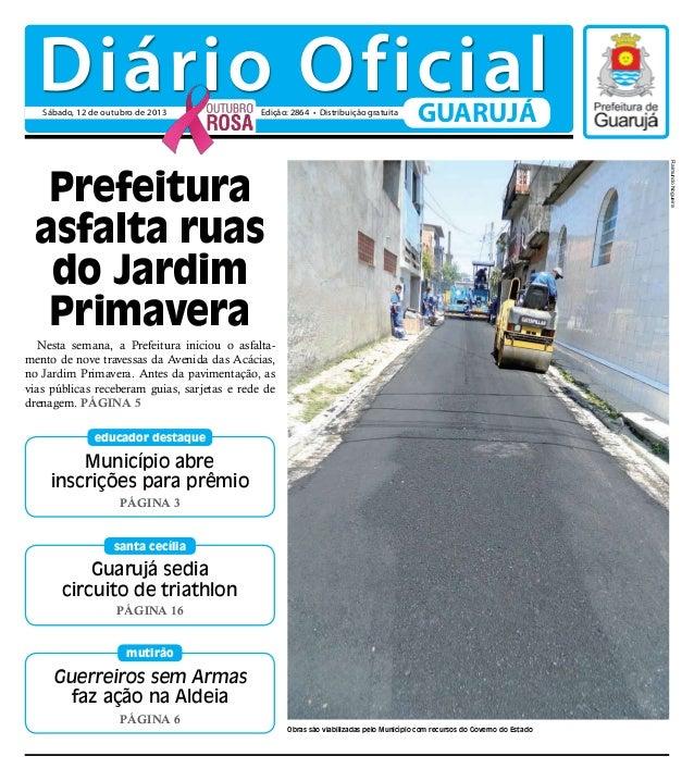 Guerreiros sem Armas faz ação na Aldeia Página 6 mutirão Nesta semana, a Prefeitura iniciou o asfalta- mento de nove trave...