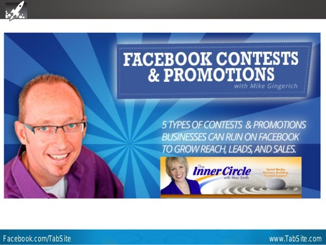 Webinar: July 27, 2011 Webinar  How to Run a Successful Photo Contest on Facebook  Video Replay and Slides Available in 8-...