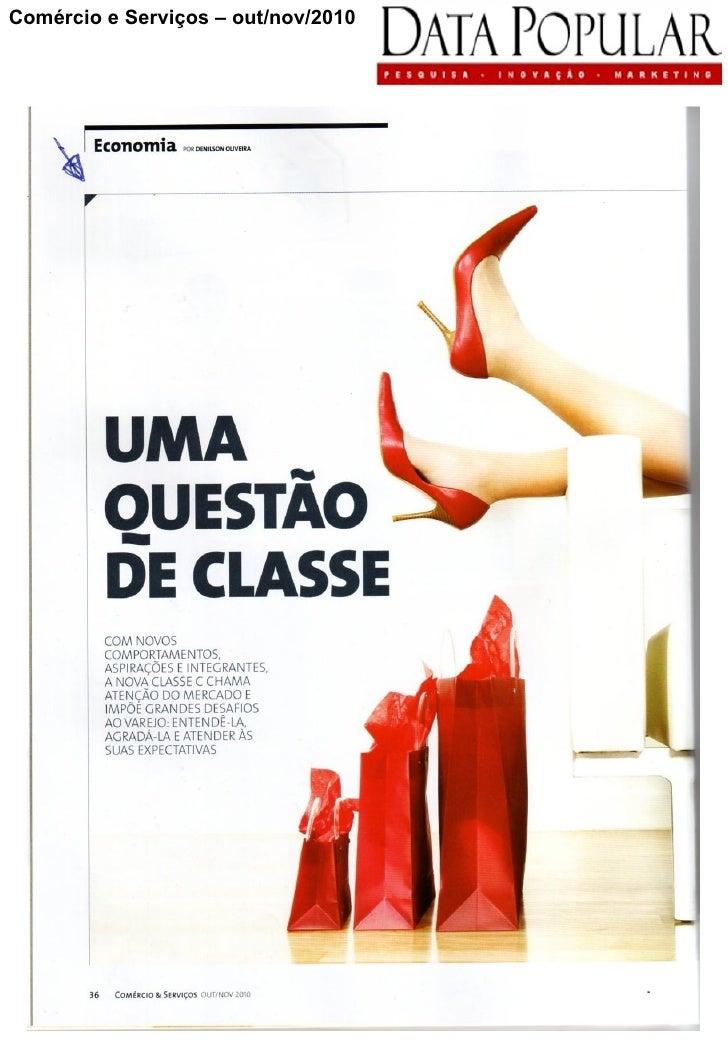 Comércio e Serviços – out/nov/2010