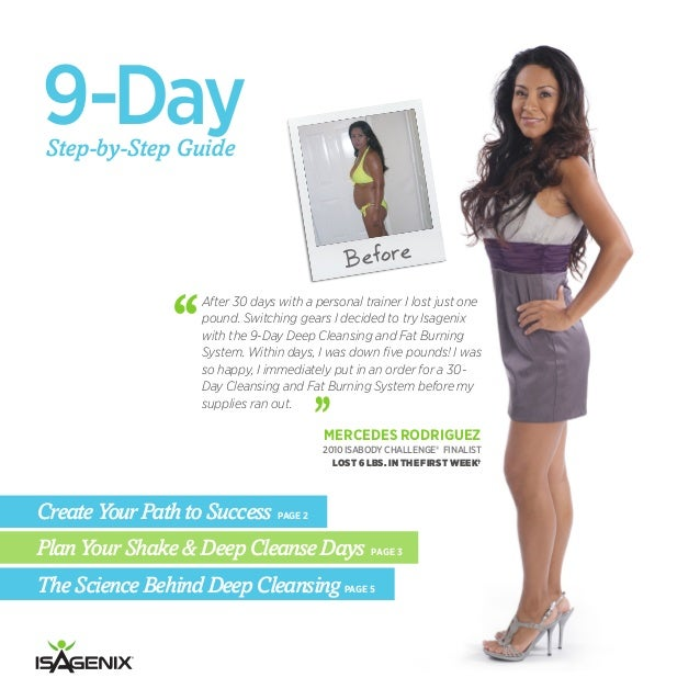 isagenix 30 day system guide