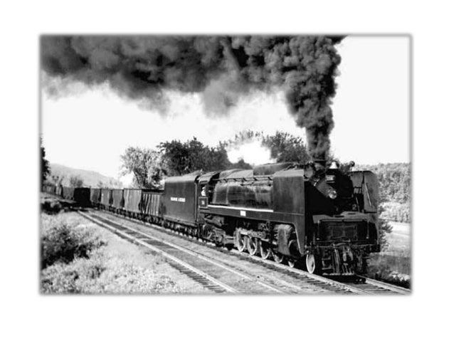 Σιδηρόδρομος  Ατμόπλοιο:  Σύμβολο της  νέας εποχής.
